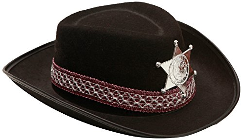 My Other Me Me - Sombrero de vaquero para niño, talla única, color negro (Viving Costumes MOM01602)