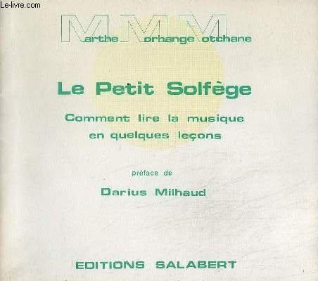 LE PETIT SOLFEGE - COMMENT LIRE LA MUSIQ...