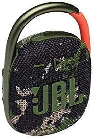 مكبر صوت جي بي ال كليب 4 محمول يعمل بالبلوتوث ومقاوم للماء - اللون اخضر سكواد مموه