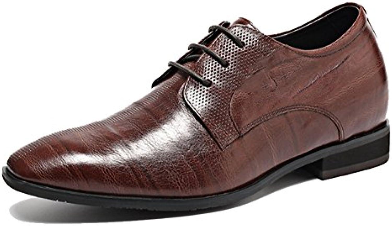 NIUMJ Hombres Verano Negocios Casual Moda Exterior Transpirable Borla Boda Zapatos De Cuero