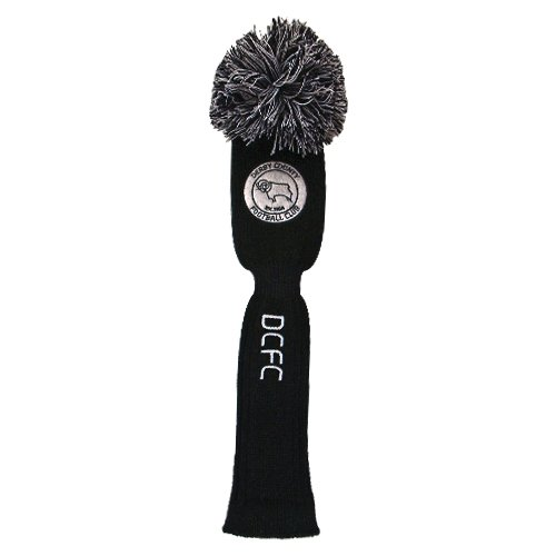 Used, Derby County Golf Pompom Headcover - Driver for sale  Delivered anywhere in UK