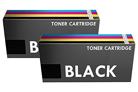 Prestige Cartridge Lot de 2 Cartouches de laser toner compatible deHaut Rendement avec les séries B4200/B4250/B4300/B4350 Noir