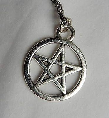 Collier Pentacle, Wicca, Païen, Gothique, Wiccan, Spell, Sorcellerie, Sorcière, Boho, Pagan, Gothique, Magie, Mystique, Metal, Grunge, Rock, Festival