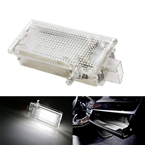GOFORJUMP per B/MW E46 E53 E5 X5 E81 E82 E83 X1 E87 Facelift E92 F25 X3 Mini R50 Errore Libero 18 LED Bagagliaio Boot Boot Glove Box Light