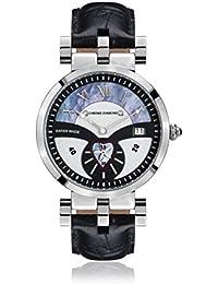 Chrono Diamond 82109_schwarz-38 mm - Reloj , correa de cuero color negro