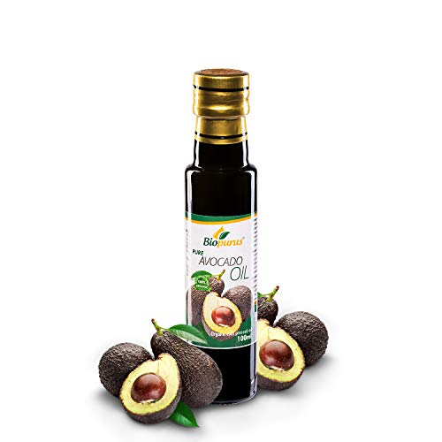 416Bz K0OAL. SS500  - Certified Organic Cold Pressed Avocado Oil 100ml Biopurus