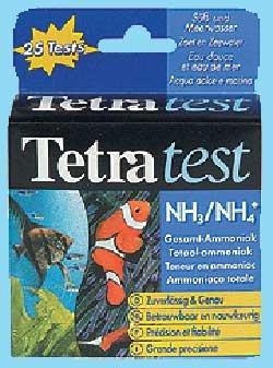 NH3 / NH4 Test von Tetra, Nitrat Nitrit Wassertest