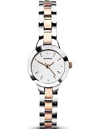 Sekonda Women's Quartz Watch with Multi-Colour Dial Analogue Display and Multi-Colour Bracelet 2145.27