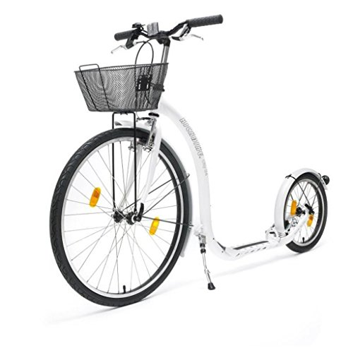 Kickbike City G4 White + basket