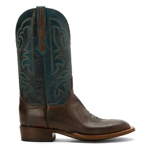 Lucchese Ant Cuir Santiags Ant Pearwd Tn-Garganey Bl