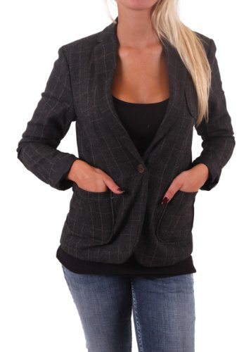 "Maison Scotch donna giacca ""la Femme Selon Marie"" dark grey grigio XL"