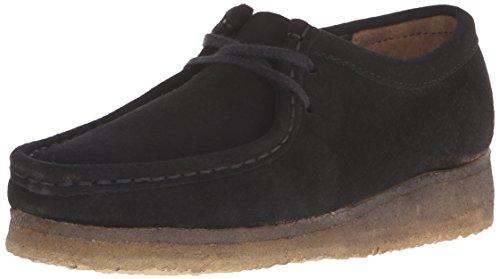 Clarks Damen Wallabee, schwarz, 40 EU - Damen-wallabee Boot
