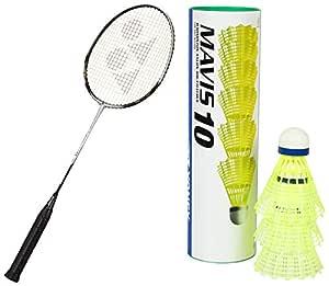 Yonex Carbonex 6000 Ex 4U Badminton Racquet (Silver/Black)