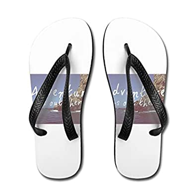 Adventure Is Out There Adult Sandals Large