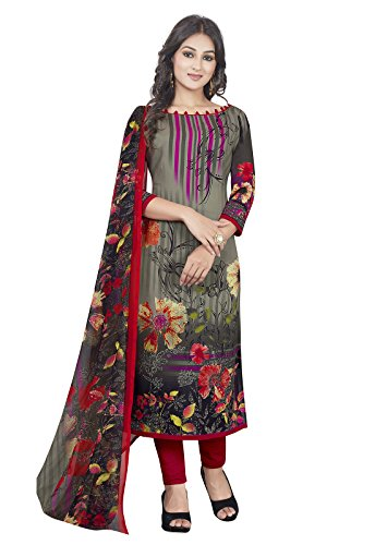 Risera Synthetic Black & Red Party Wear Wedding Wear Casual Wear Bollywood...