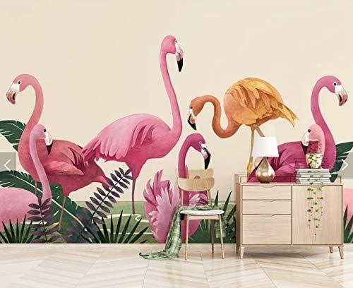 YiShuQiang Wallpaper Fototapeten Monstera Bananenblatt Tapetens Wandbilder Wohnzimmer Schlafzimmer Büro Flur Dekoration Fototapetens,315 * 232cm(WXH)