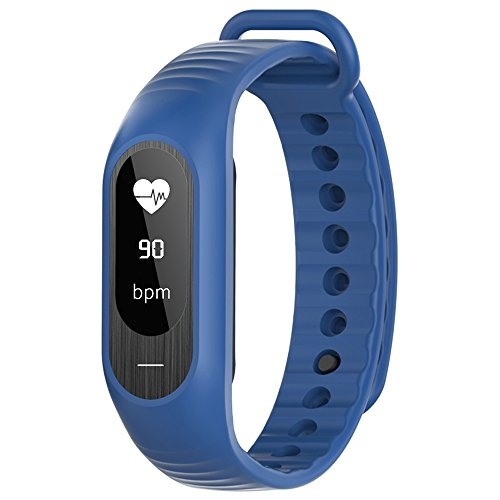 SKMEI Smart Watch BT4.0 impermeabile touch screen OLED pressione intelligenti di sport della vigilanza del braccialetto della frequenza cardiaca / Sangue / sleep Monitor Contapassi Calorie Fitness