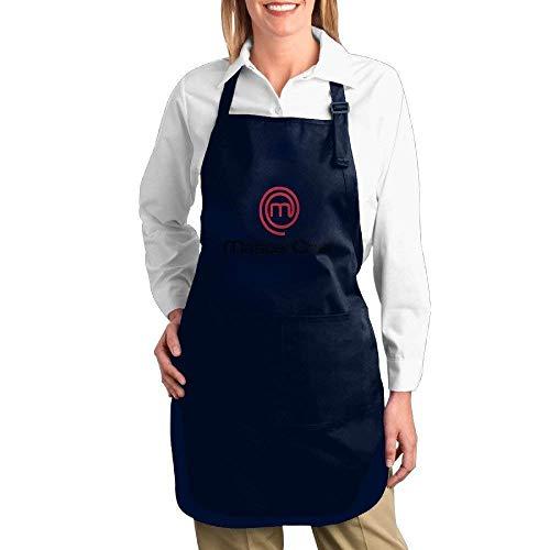 yiyuanyuantu MasterChef Logo Kitchen Aprons for Women Men,Cooking Apron,bib Apron
