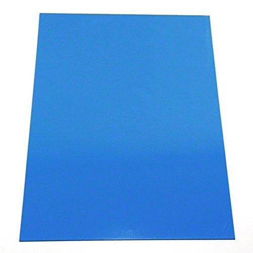 Magnet Experten f4ma4b-20Farbige laminiert Flexible A4Magnetisch Spannbetttuch, blau (20Stück)