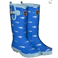 SOLEM8 FUNKY FISH WELLINGTON BOOTS