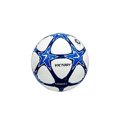 Legea - Pallone Calcio Victory Atletica (Azzurro-Blu, 5)