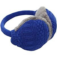 Unisex stricken EarMuffs Faux Furry Earwarmer Winter Outdoor-Ohrenschützer (blau) preisvergleich bei billige-tabletten.eu