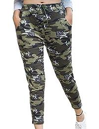 Aglobi Women's & Girls' Slim Fit Casual Trouser