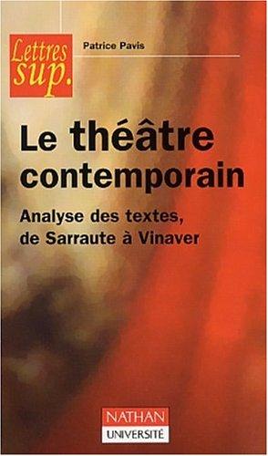 L'Analyse des textes de théâtre contemporain