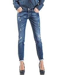 Meltin'Pot - Jeans MARCELINE D1339-BP115 para mujer, estilo skinny, ajuste ceñido, talle muy baja
