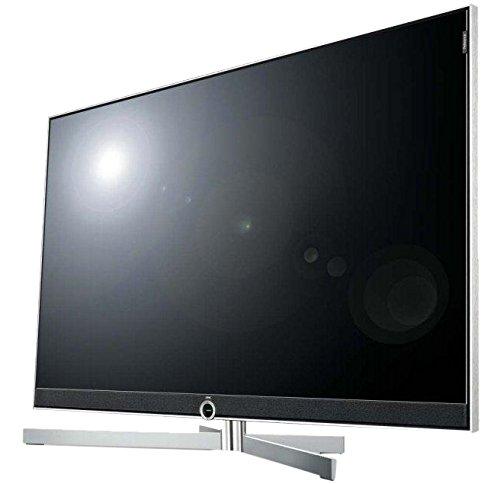 "LOEWE 54433B40 55"" 4K Ultra HD Compatibilità 3D Wi-Fi Alluminio, Argento LED TV"