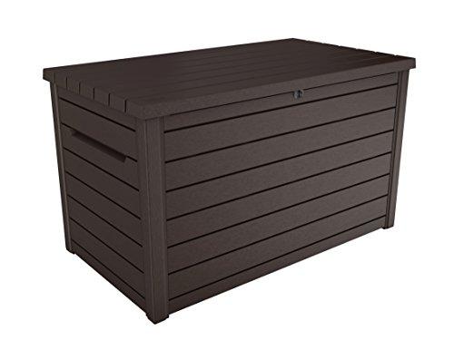 Keter -  Arcón exterior Ontario, Capacidad 870 litros, Color marrón