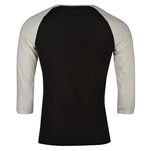 Official Herren Pink Floyd Raglan T Shirt Verstaerkt 3/4 Sleeve Rundhals Tee Mehrfarbig
