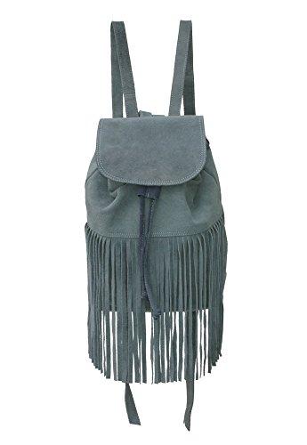 Echt-Wild-Leder-Rucksack-Franzen-CeCee-Bags-Damen-Handtasche-Ledertasche-fr-Frauen-Hippie-Leder-Rucksack-fr-Uni-Schule-und-Freizeit