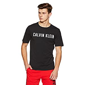 Calvin Klein Performance Logo Stretch Cotton Regular Fit Short Sleeve Tee