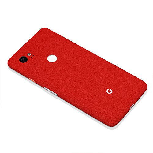 7 Layer Skinz Custom Skin Wrap Compatible with Google Pixel 2 XL (Red)