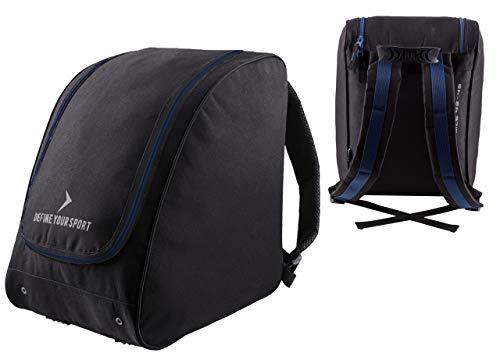 Unbekannt Skischuhtasche | Outhorn PKB600 | Wasserdichte Tasche für Skischuhe Schlittschuhe | widerstandsfähig Skischuhrucksack | Schlittschuhtasche
