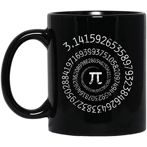 Pi Math-kinder Hoodie (Pi Day Spiral Pi Math for Pi Day 3.14 11 oz. Black Mug)