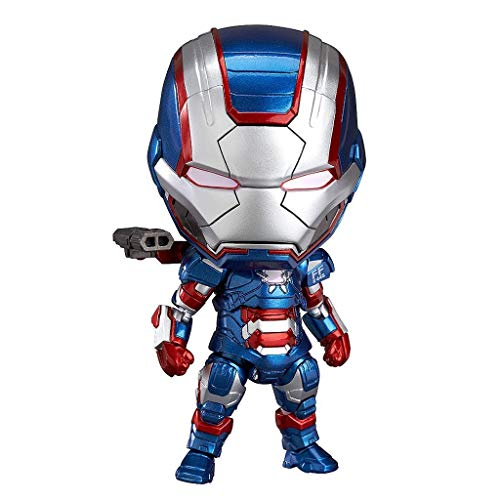 Huangyingui Nendoroid Action-Figur - Iron Man Nendoroid Iron Patriot: Hero's Edition