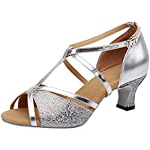 VECDY Zapatos De Baile Rumba Waltz Prom Ballroom, De Salsa Latina, Zapatos De Baile