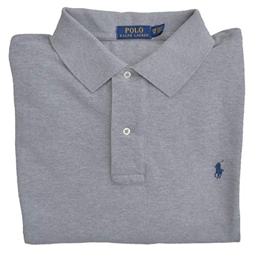 Ralph Lauren Big & Tall Poloshirt Classic Polo Grau Andover Heather (5XB) (Tall Poloshirt Herren Big)