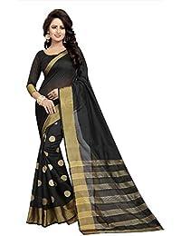 0c012d3ff69627 Softieons E-Commerce Sarees Solid Cotton Silk Fashion Saree With Blouse  Piece.(KARINA