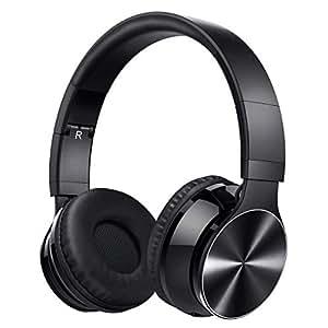 victsing 055 bluetooth headphones wireless headphones over ear hi fi stereo headset with noise. Black Bedroom Furniture Sets. Home Design Ideas