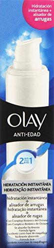 Olay 2 en 1 Hidratación Instantánea y Alisador de Arrugas Anti-Edad Hidratación Instantánea – 50 ml