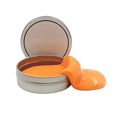 Clearance. enfants jouet, Yanhooluminous en caoutchouc Mud Slime parfumée Tub soulager le stress n'borax jouet, Enfant, Orange