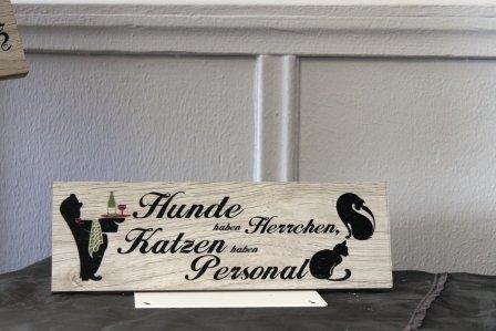 Creativ Deluxe Dekorationsschild als Tür- oder Wandschild - Home-Accessoire, Geschenk -