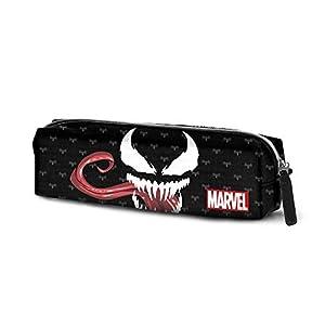 Karactermania Venom Venom-astuccio Portatutto Quadrato HS Estuches 22 Centimeters Negro (Black)