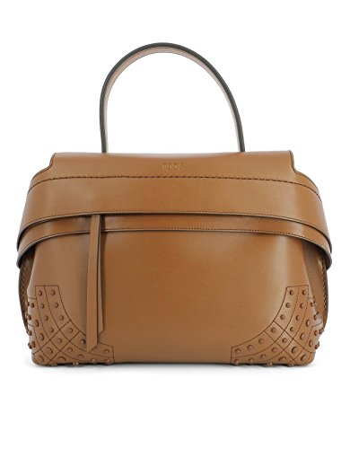tods-womens-xbwamrwg201t0ps018-brown-leather-handbag