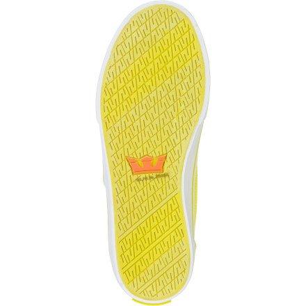 Supra, Sneaker uomo Giallo (giallo)