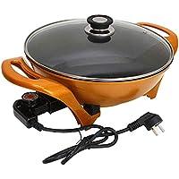 Polyvalent Pot Wok électrique Pot Lingot antiadhésif Pot d'or marmite électrique cuisinière électrique Hot Pot Noodle…