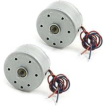 Mini Motor - SODIAL(R) 2pzs RC300 6000RPM DC 1.5-9V Motor micro
